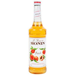 PEACH SYRUP - MONIN