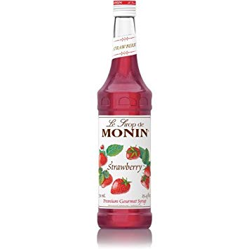 STRAWBERRY SYRUP - MONIN - 1000ML