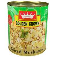 SLICED MUSHROOM - GOLDEN CROWN - 800GMS