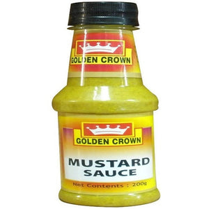 MUSTARD SAUCE - GOLDEN CROWN - 200GMS
