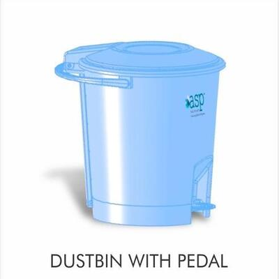 PLASTIC DUST BIN WITH PEDAL