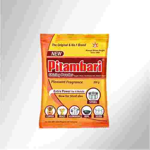 DISH WASHING / SHINING POWDER - PITAMBARI - 50GM X 20 PC
