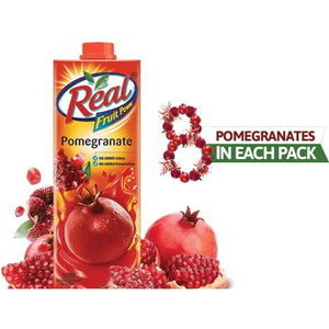 POMEGRANATE JUICE - REAL - 1L - 12PK