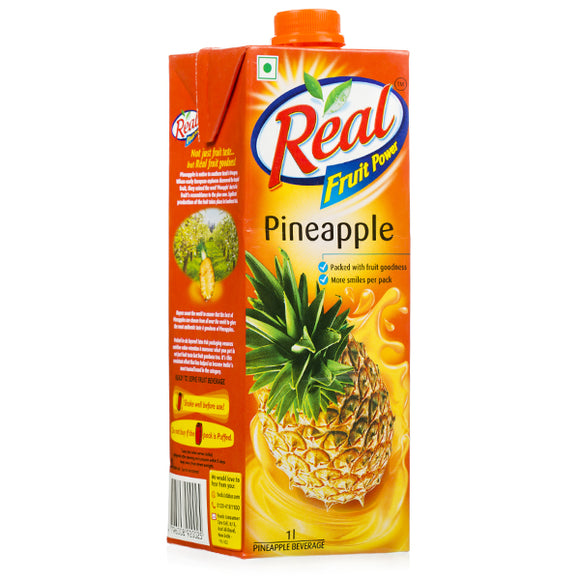 PINEAPPLE JUICE - REAL - 1L - 6PK