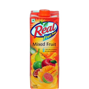MIXED FRUIT JUICE - REAL - 1L - 12PK