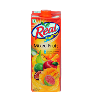 MIXED FRUIT JUICE - REAL - 1L - 1pc