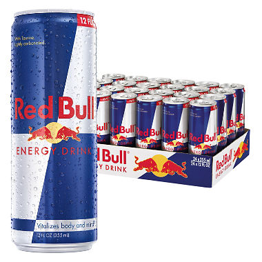 RED BULL ENERGY DRINK - 250ml - PK 24