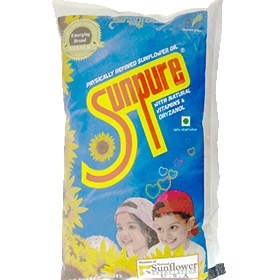 SUNFLOWER OIL - SUNPURE - 10L BOX
