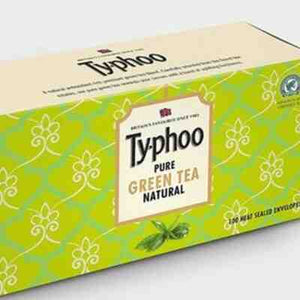 TYPHOO PURE GREEN TEA BAGS (ENVELOPE) - 100 PKT