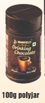 DRINKING CHOCOLATE POWDER - WEIKFIELD - 100GMS