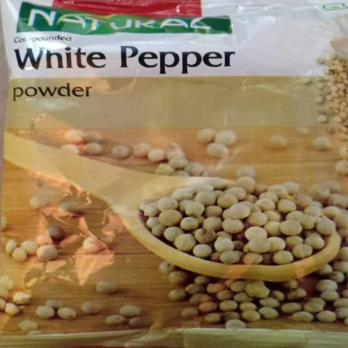 WHITE PEPPER POWDER - NATURAL - 100gm