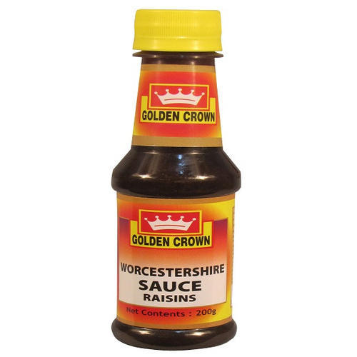 WORCESTERSHIRE SAUCE - GOLDEN CROWN - 200GMS