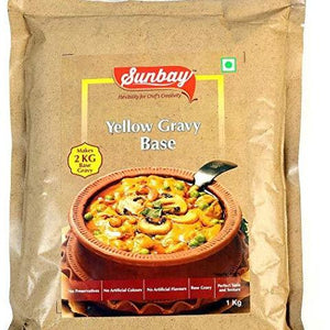 YELLOW GRAVY BASE - SUNBAY - 1KG
