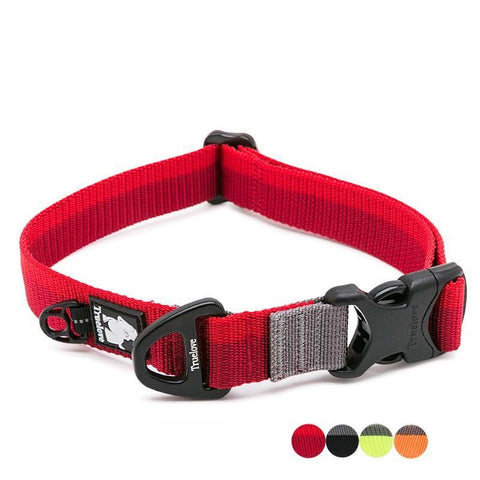 Nylon adjustable dog collars for all dog sizes