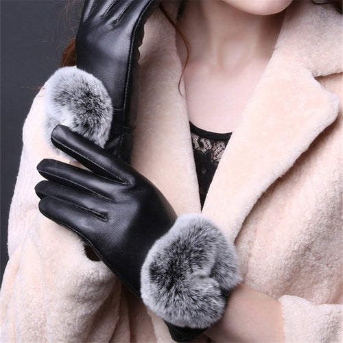 Cuir Nouveau Genuine Leather Gloves | Touch Screen