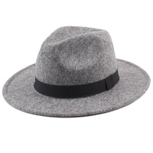 Load image into Gallery viewer, Classic jazz women's fedoras hat