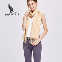 Load image into Gallery viewer, Soft Fashion Luxury Cashmere Scarf - more styles