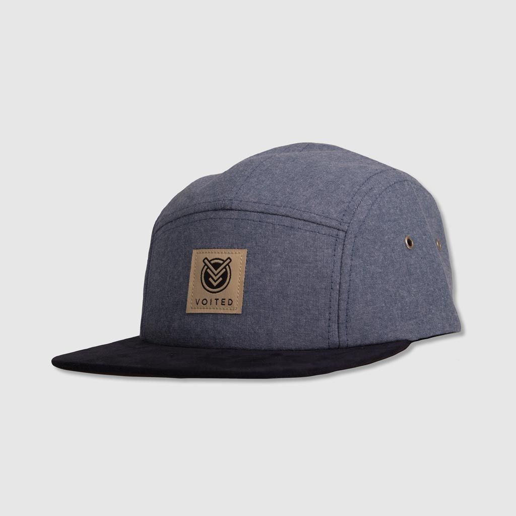 Camper 5 Panel Cap - Chambray