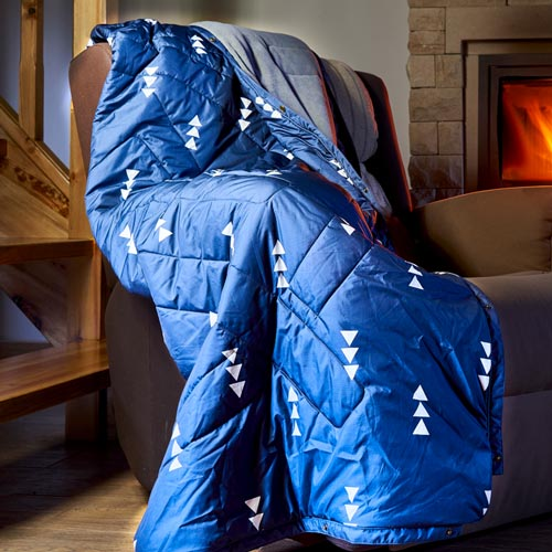 FLEECE OUTDOOR CAMPING BLANKET WAYS