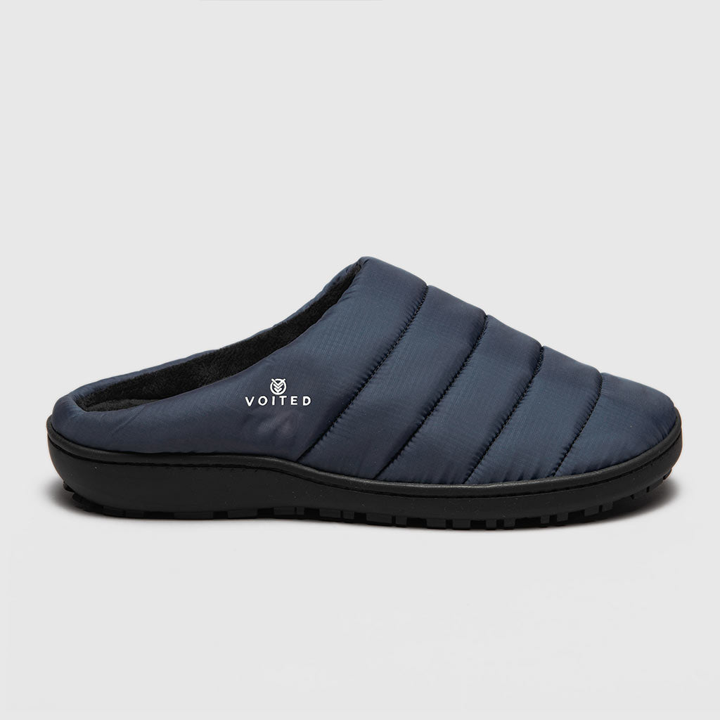 SOUL SLIPPER - LIGHTWEIGHT, INDOOR/OUTDOOR CAMPING SLIPPERS DARK NAVY