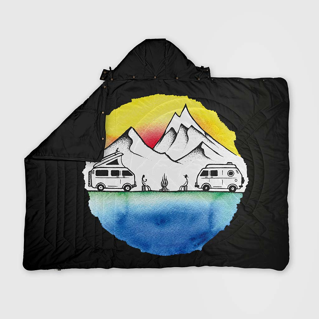 RECYCLED RIPSTOP TRAVEL BLANKET