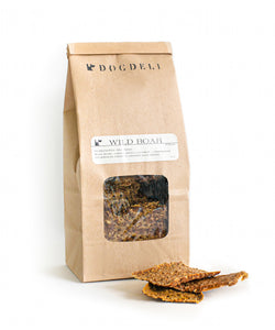Dehydrated Wild Boar, 4-oz bag