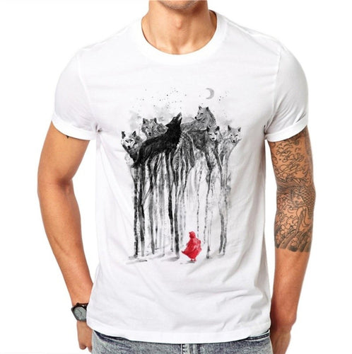 Ink Wolf Tee
