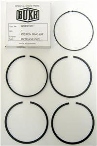 Bukh Piston Ring Set for DV10 & DV20