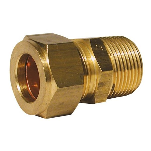 "Compression Fitting 1/2"" to 1/2"" B.S.P."