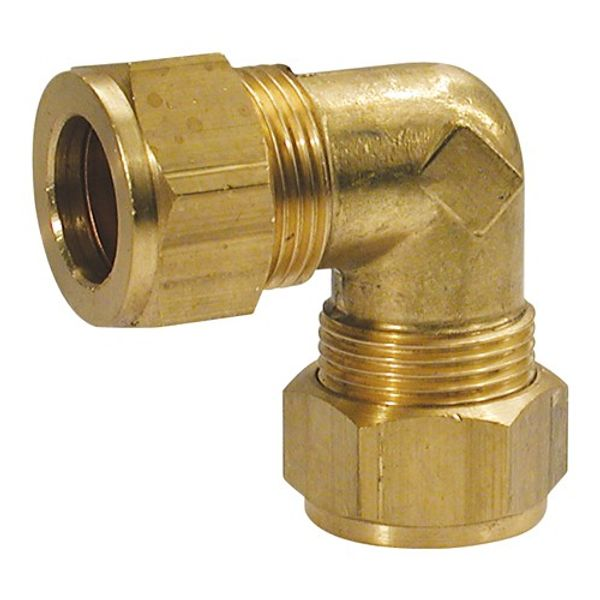 "Compression Fitting Elbow 5/16"" to 1/4"""
