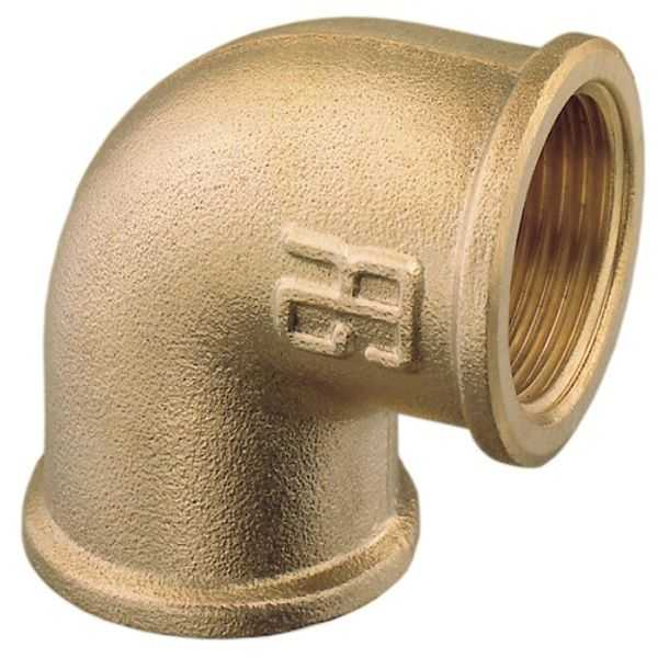 "Brass Elbow 1"" B.S.P. ( Female to Female)"