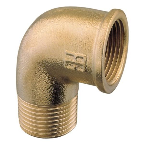 "Brass Elbow 1/2"" B.S.P. (Male to Female)"