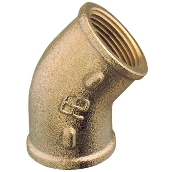 "Brass Elbow 45º 3/4""B.S.P. (Female to Female)"