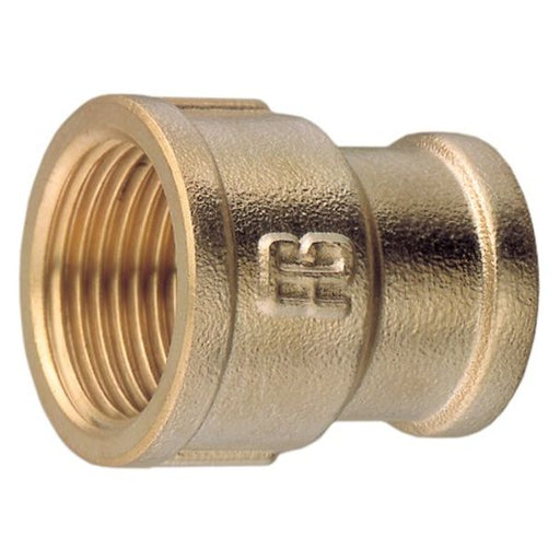 "Brass Reducing Socket 1/2"" to 1"" B.S.P."