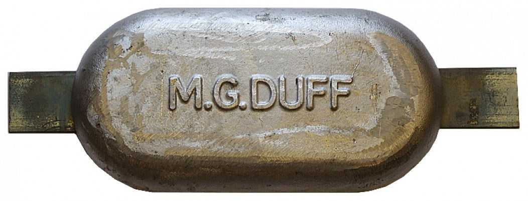 M.G.Duff MD80 Weld on Magnesium Anode 2.8KG