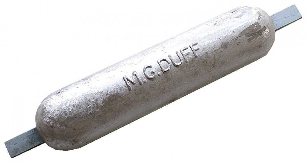 M.G.Duff MD78 Weld on Magnesium Anode 1.5kg