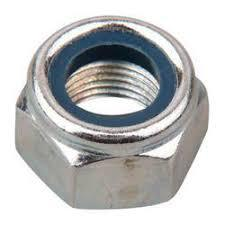 A4 316 Stainless Steel Nyloc Shaft Nut (Metric Course) - T.Norris Marine