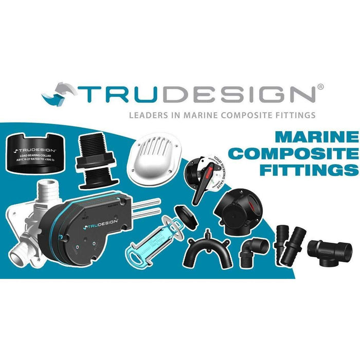 Trudesign Skin Fittings (Black) - T.Norris Marine