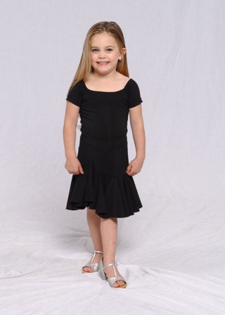 Youth Dance Bodysuit with Short Sleeves - BS104-J - Youth by Randall Designs