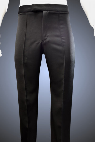 Men's Dance Trouser with Narrow Waistband & Satin Striping - MSNS-2 - Pants by Randall Ready