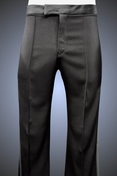 Men's Dance Trouser with Narrow Waistband & Satin Striping - Pants by Randall Ready