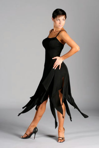 Ladies Latin Dress - RD-6 - Dress by Randall Designs