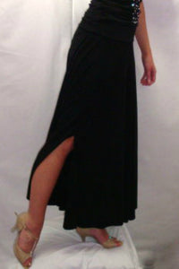 Ladies Smooth Skirt with Slit - RS-205 - Skirt by Randall Designs