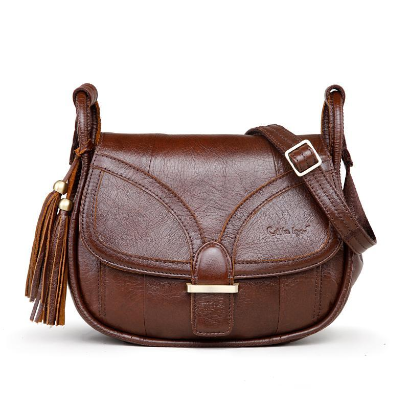 c97025c3be Cobbler Legend Genuine Leather Shoulder Bag - EnStuffs
