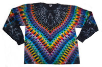 Adult Long Sleeve Midnight Rainbow