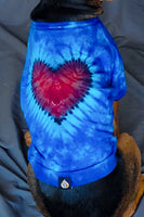Blue Love Dog or Cat Tshirts
