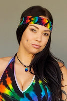 Midnight Rainbow Headband