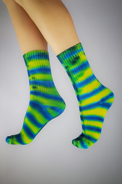 Tropical Neon SMALL Bamboo Socks