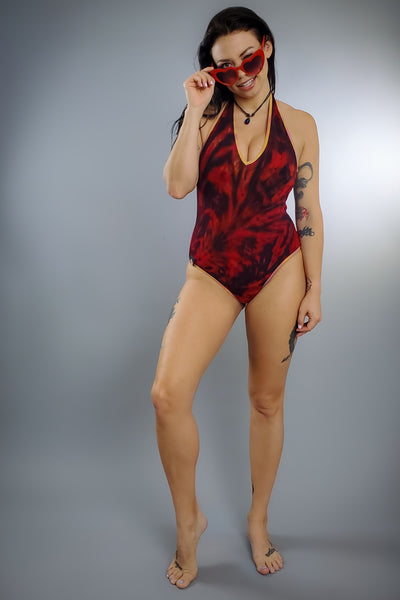 Mystic Inferno Lotus One Piece Suit