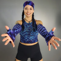 Perfect Purple DNA Arm Warmers